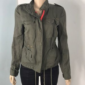 Beautiful free people jacket with pockets sz 2